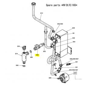 Sensor de flujo unidad Altherma Daikin EHVX16S18CA3V 5013359