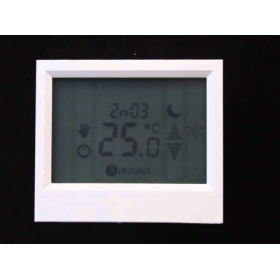 Termostato de zona TACTO AIRZONE ZONAPLXTBR- AIRZONE CABLEADO COLOR BLANCO