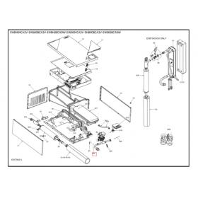 Bomba de agua unidad Altherma Daikin EHBX08CA3V 5010236