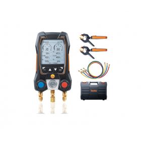 Analizador de refrigeración testo 550s - Con Bluetooth y mangueras de llenado