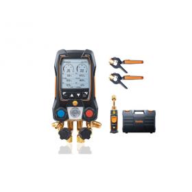 Analizador de refrigeración testo 557 - Con App, Bluetooth y sonda de vacío