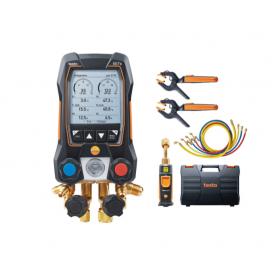 Analizador de refrigeración testo 557 - Con Bluetooth y mangueras de llenado