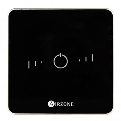 Termostato Airzone Lite 8Z conexión por radio negro AZCE6LITER