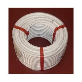 hidrotubo pvc 20mm en color blanco flexible