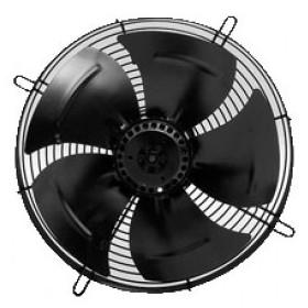 VENTILADOR AXIAL DE RECAMBIO. HÉLICE:450mm, TENSIÓN 50HZ: I 230, W MAX:250, POLOS:4, R.P.M. 1.350, A MAX: 1,2 CAUDAL M3/H 5.365