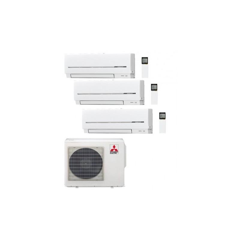 MITSUBISHI ELECTRIC 3X1 R32 MXZ-2F53VF + 3 UD MSZ-AP20VG SPLIT
