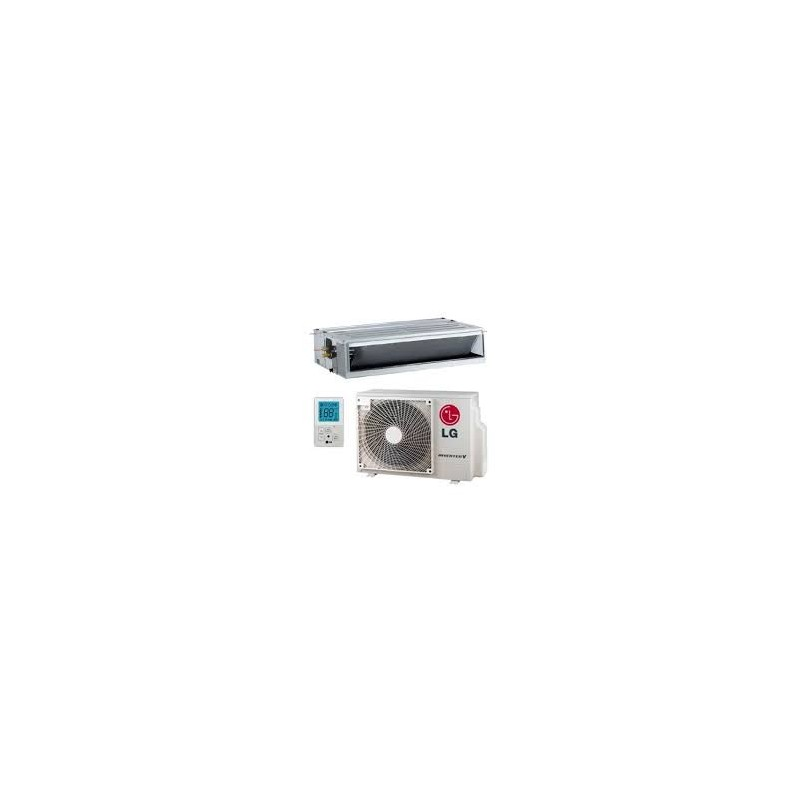 LG CM24R CONDUCTOS PRO 5848 FRIG/H - 6450 KCAL/H INVERTER CLASE A++