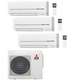 MITSUBISHI ELECTRIC 3X1 R32 MXZ-3F54VF + 3 UD MSZ-AP25VG SPLIT