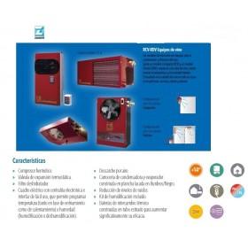 EQUIPO DE VINO COMPACTO RCV102002E ZANOTTI, 35 M³ +14ºC 230V