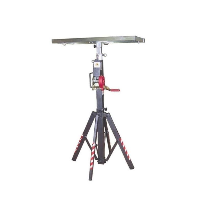 Elevadora portatil WLC-710. Carga máxima: 100 Kg. Elevación máxima: 4 mts