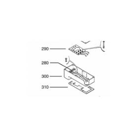 Kit bornero conexiones electricas COPELAND D9RS2-1500/EWM/000