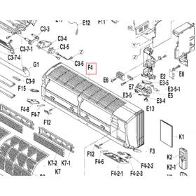 Carcasa split interior DAIKIN modelo FTXS20D2VMW