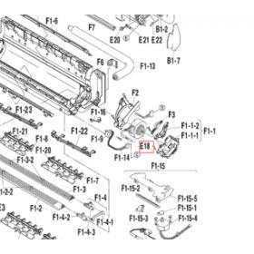 Motor ventilador unidad interior split DAIKIN FTXS60BVMB 4015805