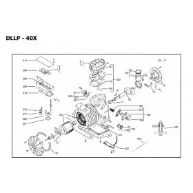 Tubo absorción bomba aceite COPELAND DLLP40X-EWL