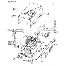 Sensor de flujo unidad Altherma Daikin EKHBX008BA3V3 5011056