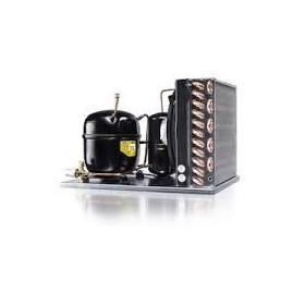 Unidad condensadora SECOP UCGS34MFX CALDERIN 1 CV R134A Alta-Media-Baja temperatura 220-240v 50Hz CILINDRADA: 33.8 CM3