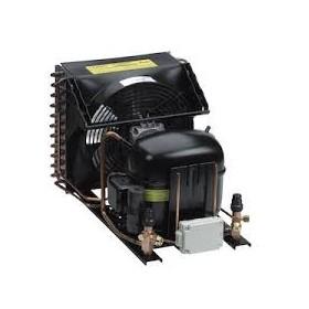 Unidad condensadora SECOP UCNL8.4CLX Obus 1/3 CV R404A Baja temperatura 220-240v 50Hz CILINDRADA: 8.40 CM3