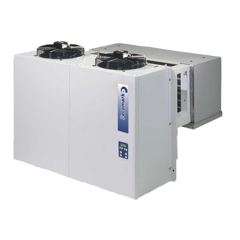 Monoblock Tampón industrial para cámaras frigoríficas PTM110G012/PK R-452A/R-449A TRIFÁSICO, MEDIA/ALTA Tº 400V, 50Hz. CV: 5.