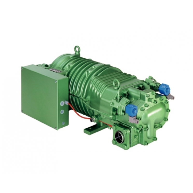 Compresor BITZER HSK 8581-160 PW, ALTA-MEDIA Tº CON REGULACIÓN DE CAPACIDAD INCORPORADA, TRIFÁSICO 400V 50 Hz, 160 CV, 470 M3/H