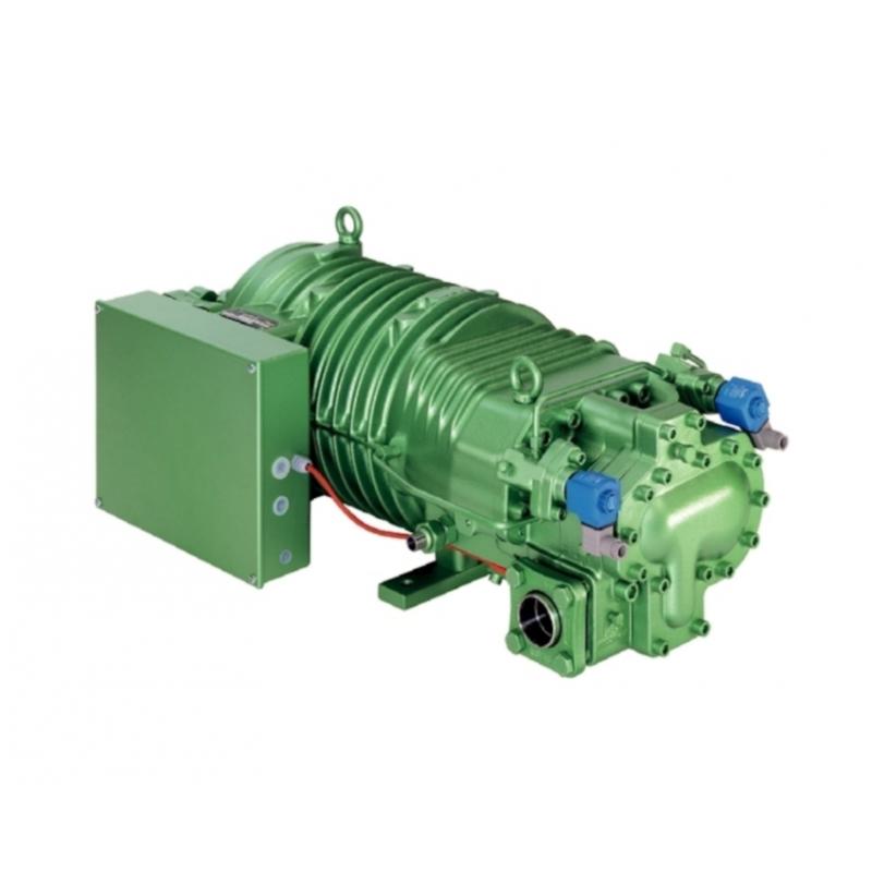 Compresor BITZER HSN 8571-125 PW, BAJA Tº CON REGULACIÓN DE CAPACIDAD INCORPORADA, TRIFÁSICO 400V 50 Hz, 125 CV, 410 M3/H (50Hz)