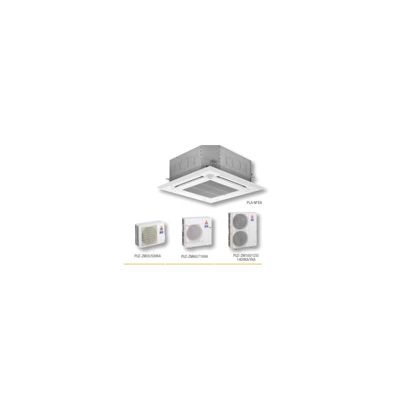 MITSUBISHI ELECTRIC MPLZ-71VEA POWER INVERTER 230V 50HZ AIRE ACONDICIONADO CASSETTE 6106 FRIG/H 6880 KCAL/H