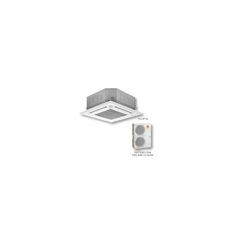MITSUBISHI ELECTRIC HPLZS-M125YEA ZUBADAN 400V 50HZ AIRE ACONDICIONADO CASSETTE 10750 FRIG/H 12040 KCAL/H