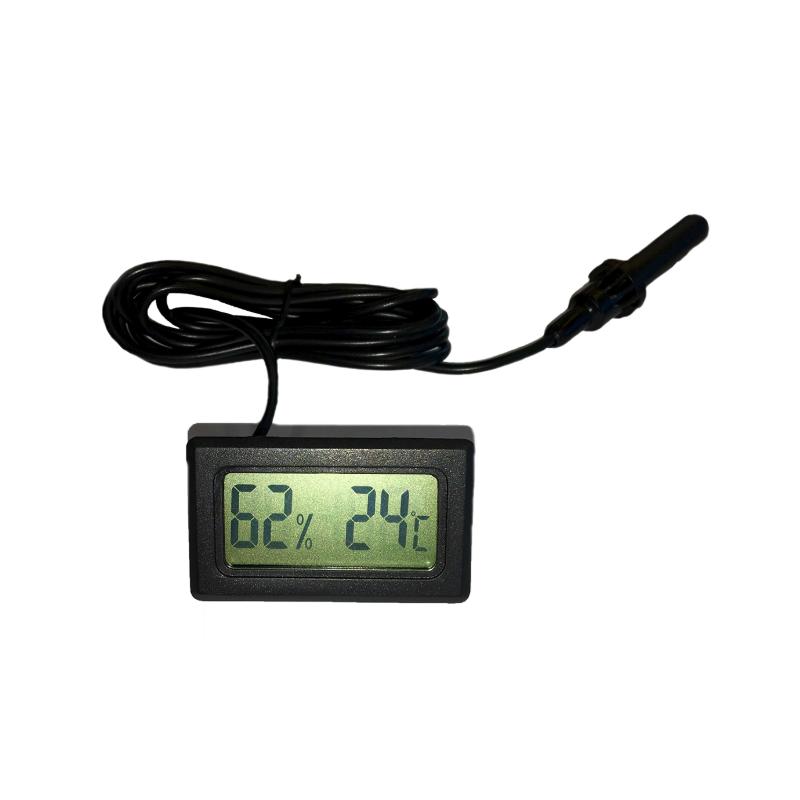 Termo-higrómetro digital panelable DTE/H.