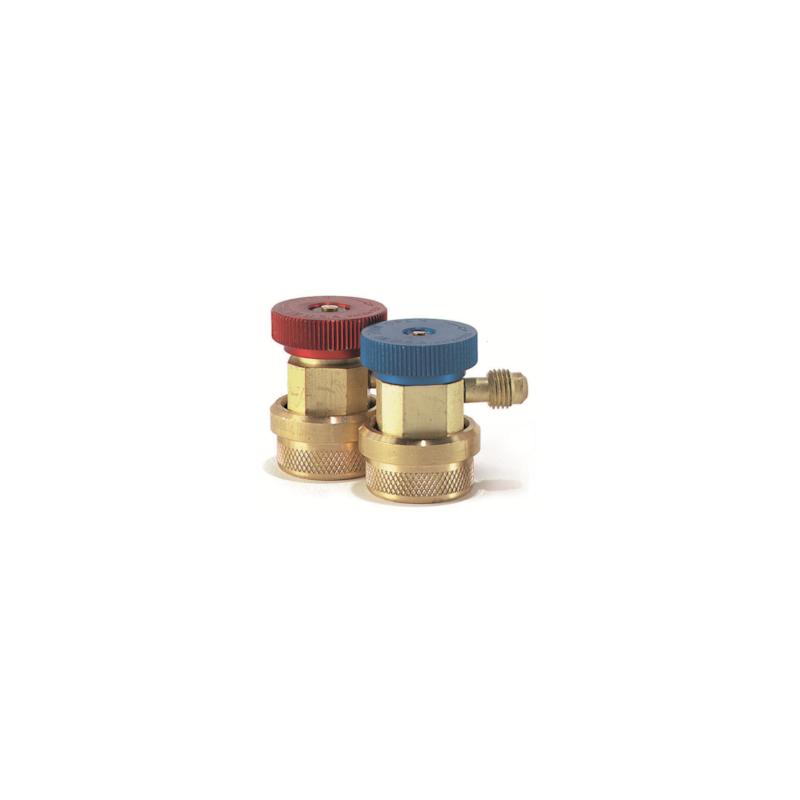 Válvulas de carga baja presión especial HFO1234yf BAJA QC-L1234-1