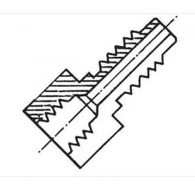 "Acoplamiento 1/4"" H Sae x M12x1,5-M (ACME)"