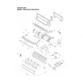 Placa electrónica unidad interior MAIN HITACHI RAS-35YHA4