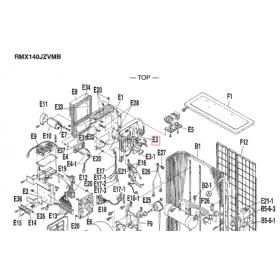 Placa control inverter exterior E3 DAIKIN modelo RMX140JZVMB 1239096