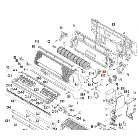 Motor ventilador split interior DAIKIN modelo FTXS35D3VMW