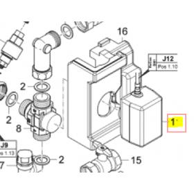 Servomotor válvula 3 vías ROTEX unidad exterior DAIKIN modelo HPSU COMPACT 308 H/C DB-5