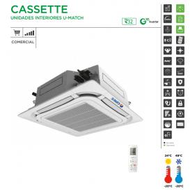 AIRE ACOND. GREE CASSETTE UM CST 36 TRIFÁSICO R32 8600 FRIG/H 10320 KCAL/H A++