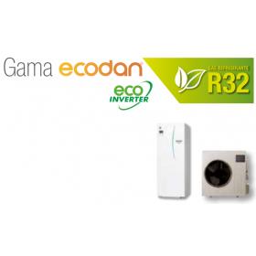 Equipo Ecodan 1x1 Acs + calefaccion o frio kit ATW-P8M-T20D (SUZ-SWM80VA + ERST20D-VM2D)