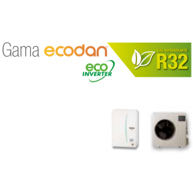 Equipo Ecodan 1x1 calefaccion o frio (SUZ-SWM80VA + ERSD-VM2D)