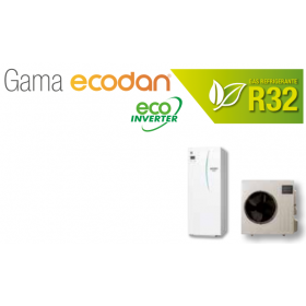Equipo Ecodan 1x1 Acs + calefaccion o frio (SUZ-SWM60VA + ERST20D-VM2D)