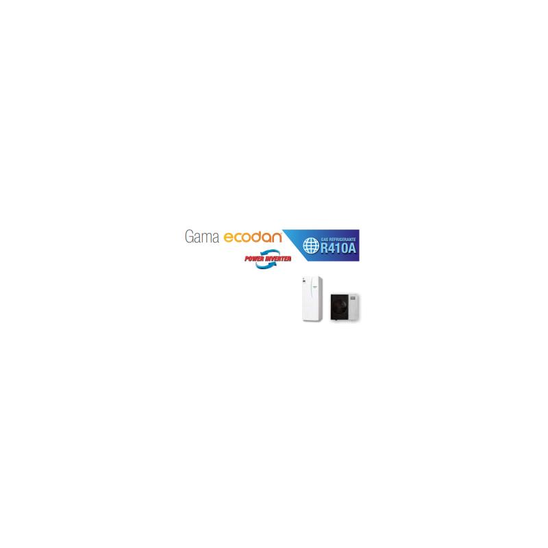 Equipo Ecodan 1x1 ACS + calefaccion o frio (PUHZ-SW120YAA + ERST30C-VM2ED) TRIFÁSICO