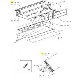 Condensador frigorifico UPH-56-712/VTD