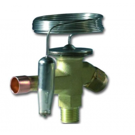 Válvula expansión termostática DANFOSS T2 068Z3383 sin compensador para R134A/R513A a soldar