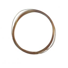 Rollo de 15 mts. de tubo capilar de cobre de 1,25 x 2,45 mm.