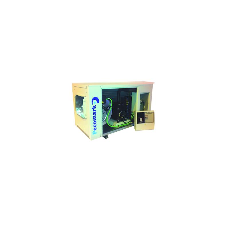 Kit unidad condensadora centrífuga TURBO BLOK S110 BT con compresor Semi Hermetico