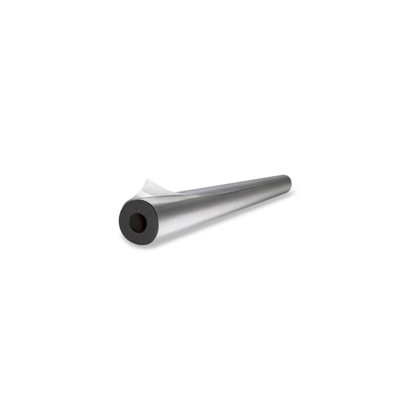 """AISLAMIENTO PRECUBIERTO """"ARMA-CHEK SILVER"""" LONGITUD 1M, ESPESOR 12.50mm PARA TUBERÍA DE 28mm"""