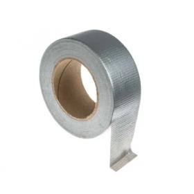 Rollo de cinta americana gris de 50 m x 50 mm PC 600-G