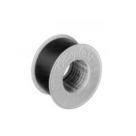 Rollo cinta auto-adhesiva COROPLAST 302 negra de 25 m x 50 mm