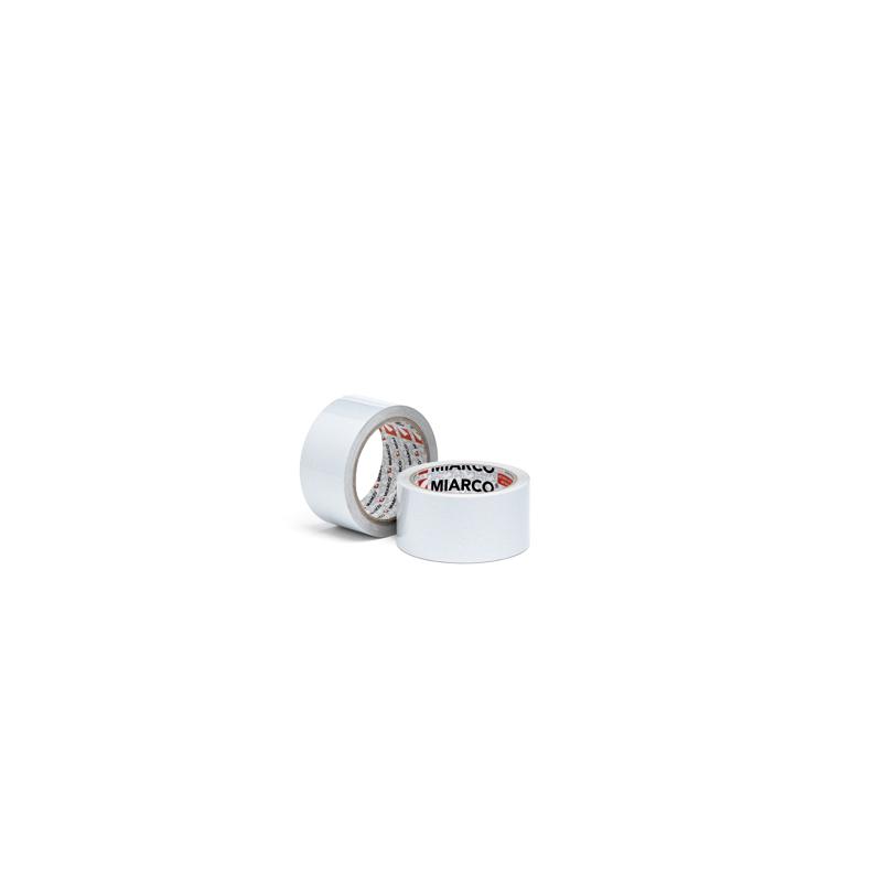 Rollo cinta adhesiva de aluminio puro 50 x 50 color blanco