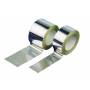 Rollo cinta adhesiva de aluminio puro 75 x 50 color aluminio