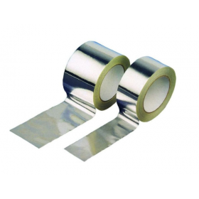 Rollo cinta adhesiva de polipropileno metalizado 75 x 50