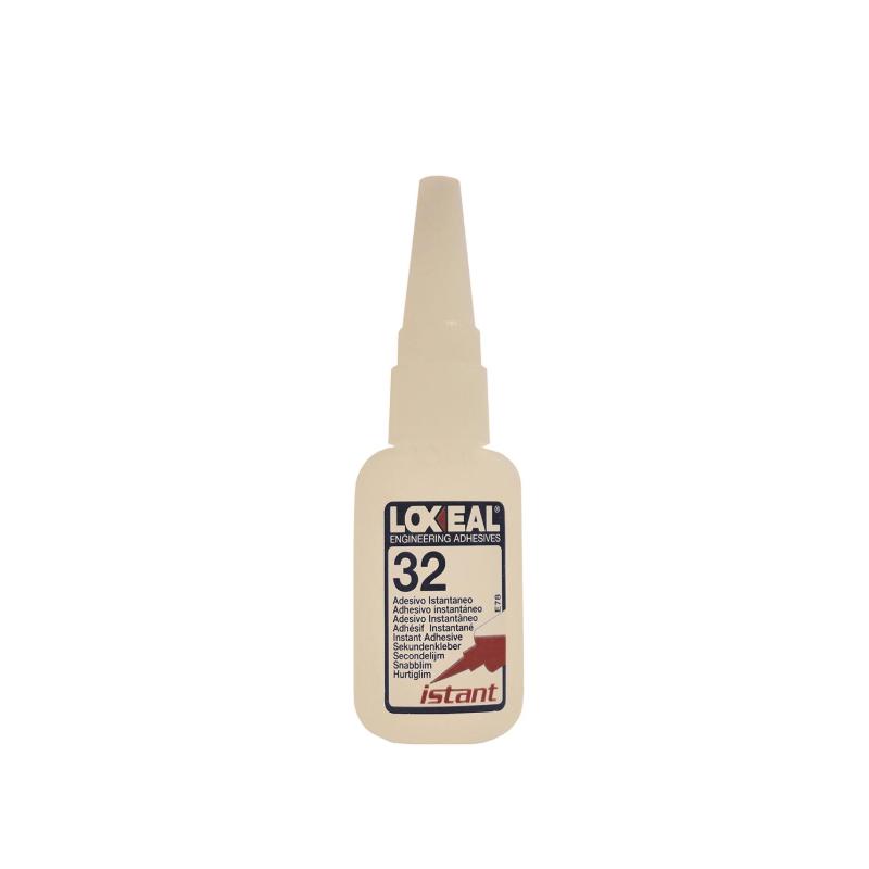 Adhesivo de cianoacrilato Loxeal IS32 en frasco de 20 g