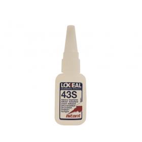 Adhesivo de cianoacrilato Loxeal IS43S en frasco de 20 g